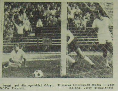 Drugi gol zdobyty przez Małkiewicza