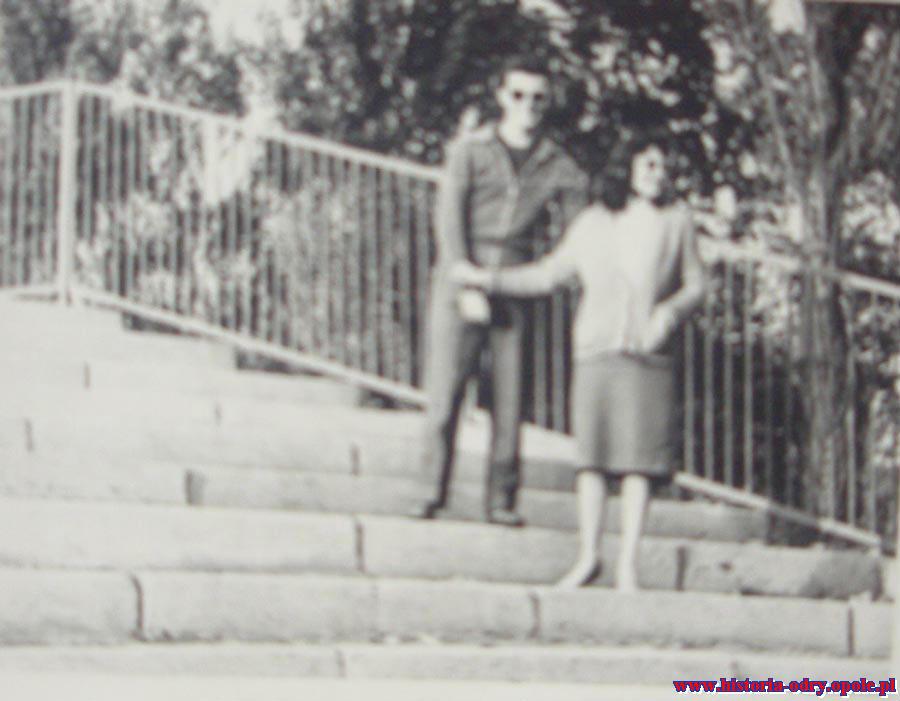 Pierwsza miłość Jarka...do dziś (StadionOdry 1958 r.)