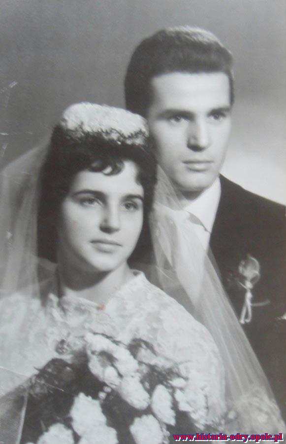 Ślub w 1960 r.