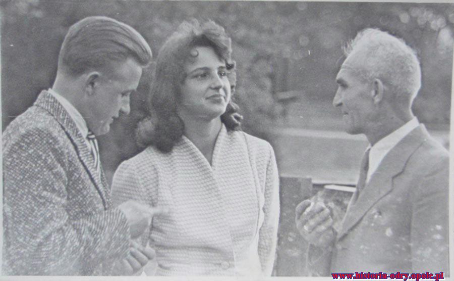 Żona Hela oraz ojciec Maksymilian (1963 r.)