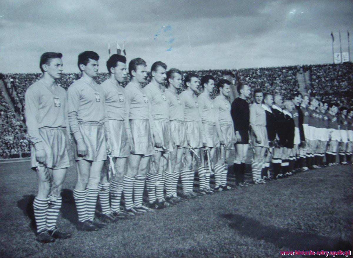 Polska -ZSRR 1:0 (21.05.1961 r. Warszawa)