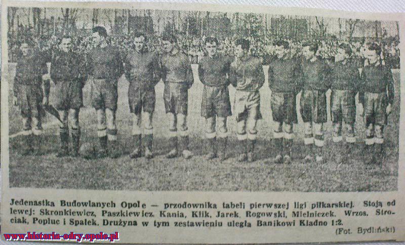 Budowlani Opole - Banik Kladno 1:2