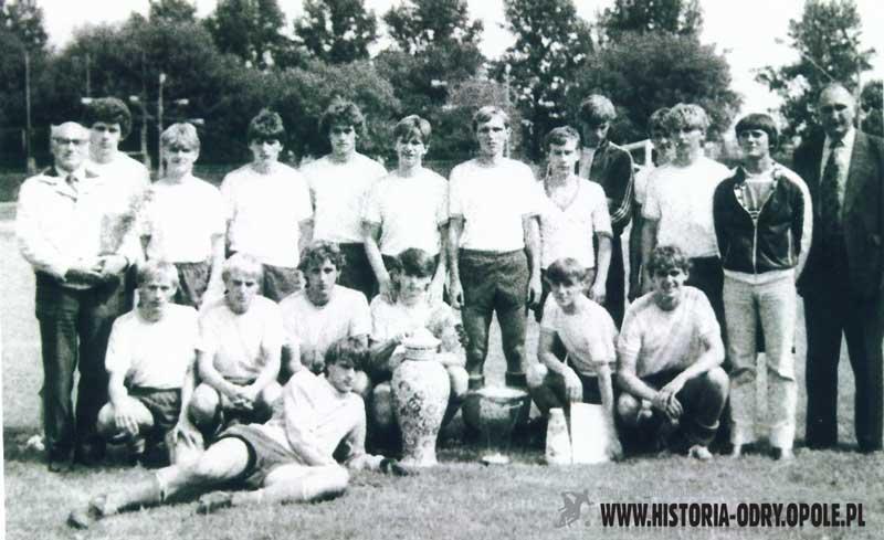 Reprezentacja Opolszczyzny z Pucharem Michałowicza (08-14.08.1983 r.)