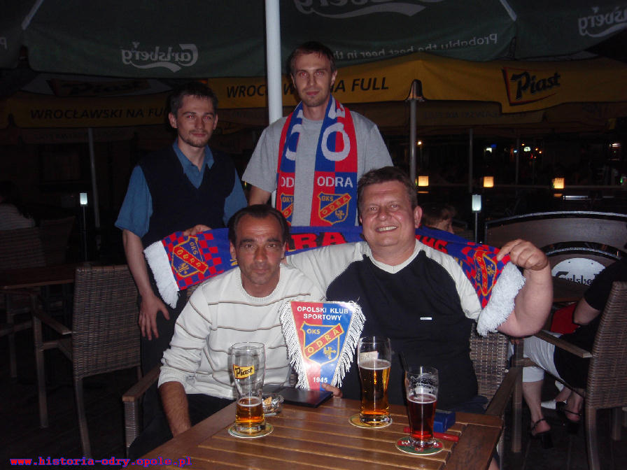 Wspólna fotografia:Janek, Seba oraz dwóch Zbyszków