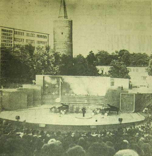 Widok na opolski Amfiteatr (21.VI.1963)