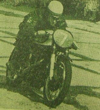 Ginter Hennek - zwycięzca opolskich eliminacji Motocyklowych MP w Opolu w klasie do 500 ccm