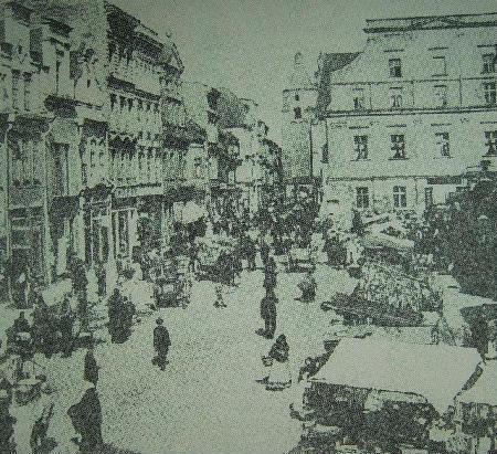 Opolski Rynek pod koniec XIX wieku