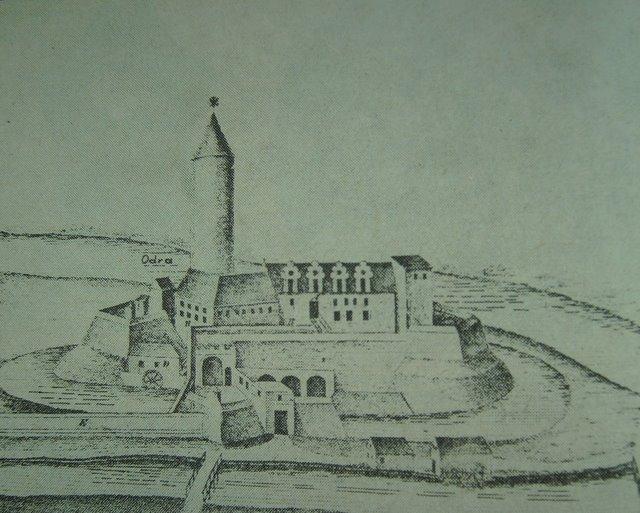 Zamek na Ostrówku XVII wiek