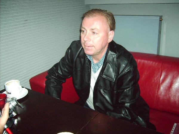 Bogdan Łukasiak odpowiadający na nasze pytania