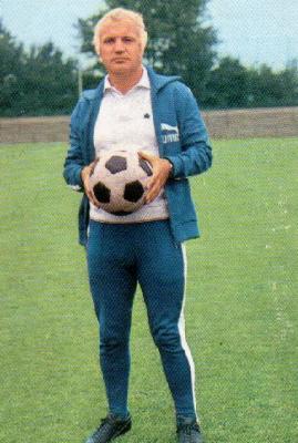Egon Piechaczek jako trener Arminii Bielefeld w sezonie 1971/72 (fussballdaten.de)