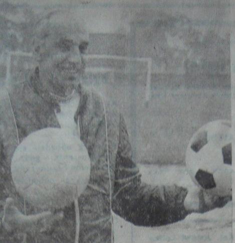 Józef Stanko na stadionie Odry: Współczesny futbol powinien być ofensywny (1980 r.)