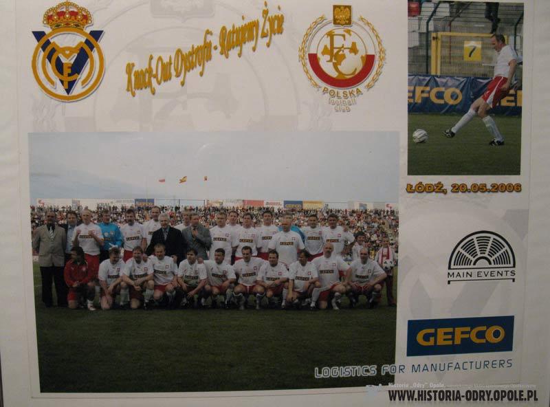 Mecz oldboy-ów Polska -Real Madryt (20.05.2006 r.)