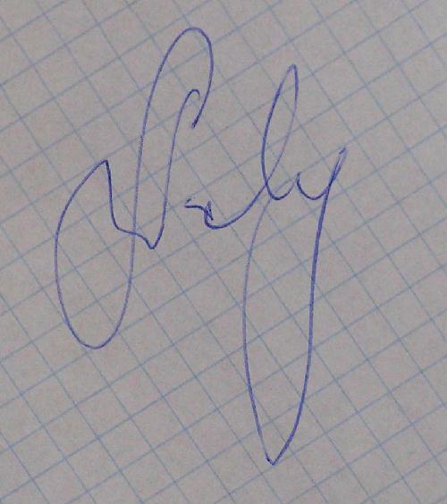 Autograf Dariusza Wolnego (www.gieksiarze.pl)